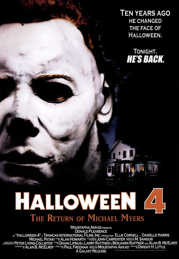 Review of Halloween 4: The Return of Michael Myers (1988 ...