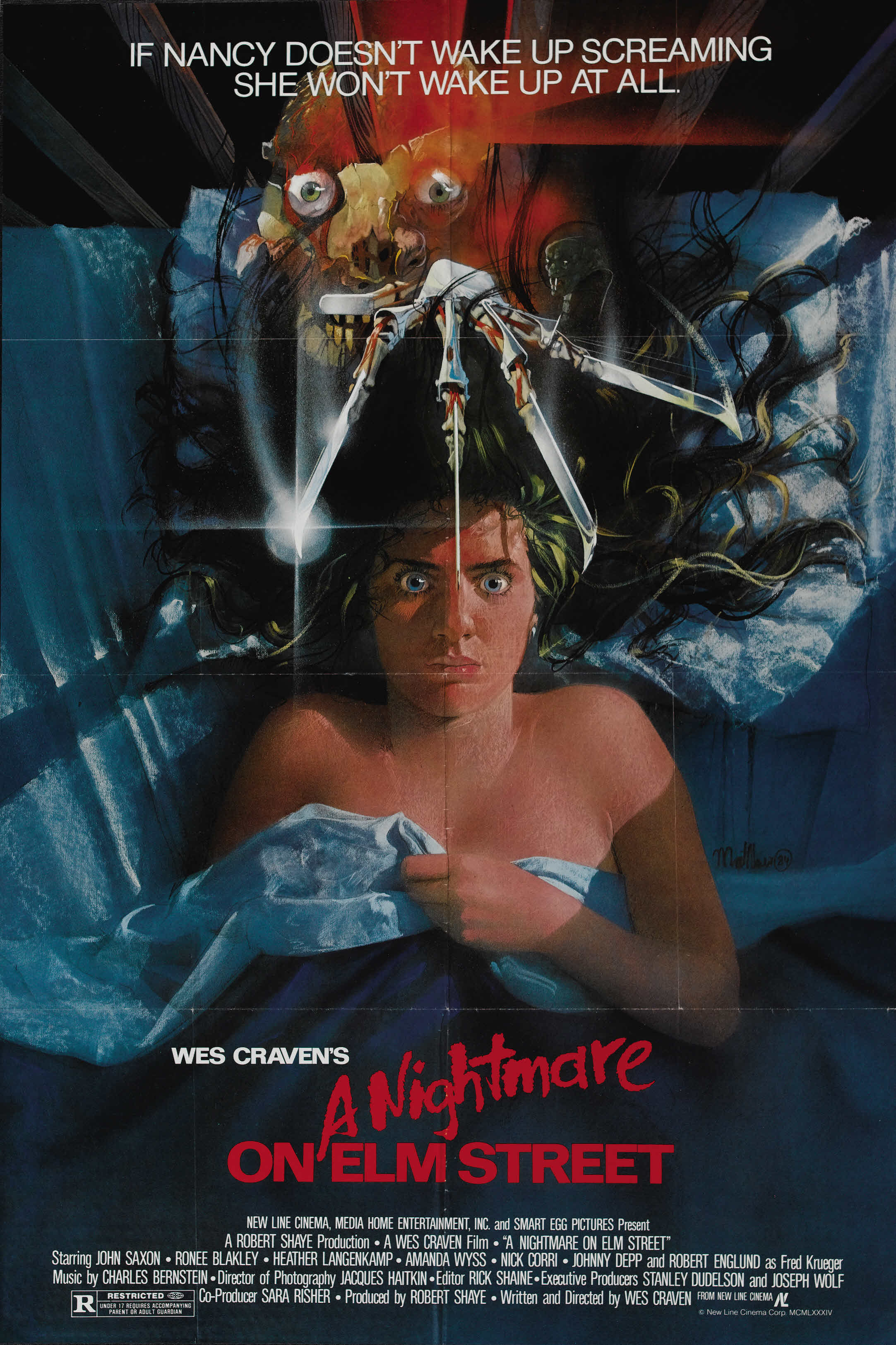 nightmare on elm street video