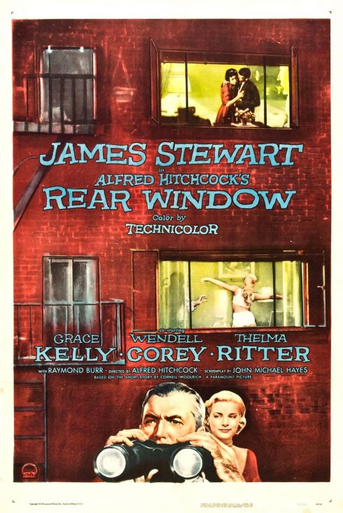 Rear Window 1954 poster